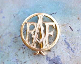 Brass RAF Badge - Royal Air Forces Association