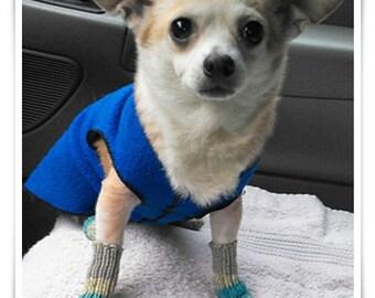 Itsy Bitsy Doggie Socks Pattern PDF