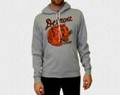 Detroit Tigers Hoodie Hooded Sweatshirt Vintage 1935 Penant Inspired Design