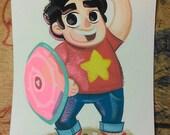Steven Universe Steven Painting