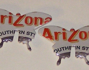 2 Butterfly Magnets - Arizona Southern Style Sweet Tea Can