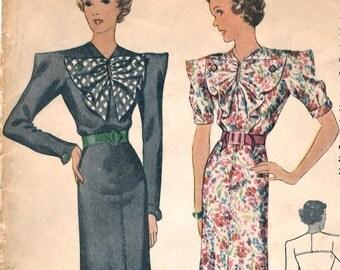 Rosineparis dress pattern -- McCall 8833