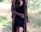 Hooded Cardigan Wrap - Elven Jacket --- ZhenNymph