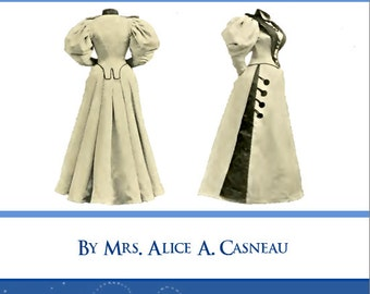 ARTISTIC DRESS CUTTING and Making Learn To Design Stunning Costumes 77 Pgs Printable or Read on Your iPad or Tablet