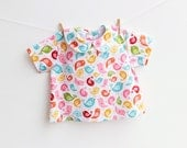 HELLO SUNSHINE Baby Shirt Girl Boy sewing pattern Pdf, children babies toddler, newborn 3 6 9 12 18 m and 1, 2 yrs Instant Download