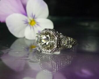 Herkimer Diamond, Herkimer Diamond Ring, Natural Herkimer Diamond, Direct From the Source, Gemstone Ring