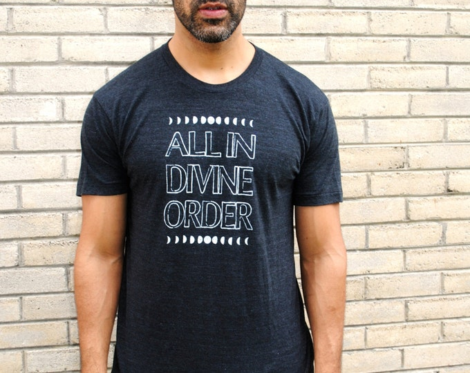 ALL in DIVINE ORDER Unisex Tri-Blend Tee