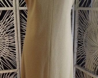 CAMEL JUMPER DRESS vintage 1970's 1960's bleyle hooper w germany S