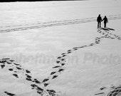 Random Walk on Walden Pond