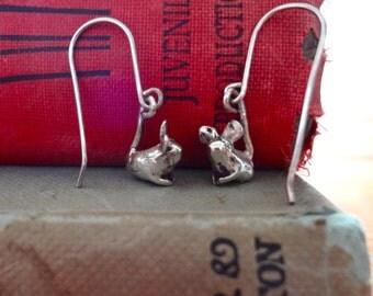 Silver Dormouse Necklace