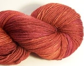 Superwash Merino, Silk shawl yarn, fingering weight 600 yards 150 gr