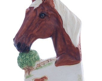 Horse Christmas Ornament Personalized Free with Your Choice of Name and or Year Handmade in the USA (h53)