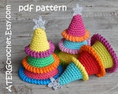 Crochet pattern Christmas tree by ATERGcrochet