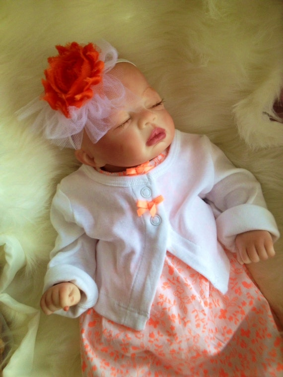 From The Preemie Anna Kit Reborn Baby Girl Nilah Completed