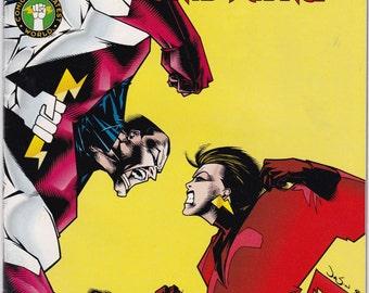 Vintage Catalyst Comic Book 1994 No 4 Dark Horse Comics - Agents Of Change - Out of the Vortex - Amazing Grace - Titan - Grenade - Gazer
