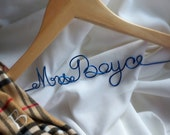Wire Name Hanger, Customized & Personalized Gift