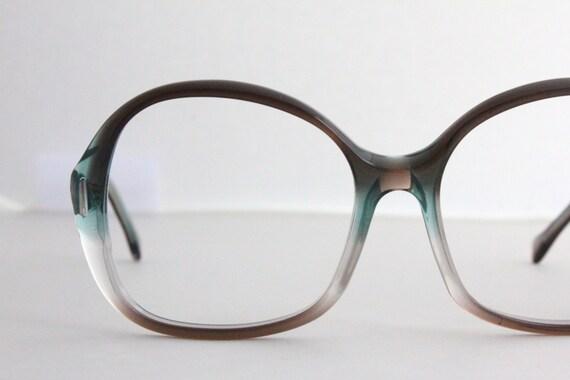 Jade Green Eyeglass Frames : Vintage 70s Smokey Jade Eyeglasses Sunglasses by Sorocco ...