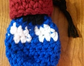 Ready To Ship: Dr Who Tardis and Fez D&D Dice Bag