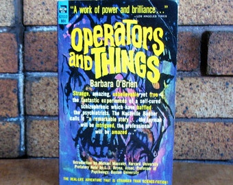 Operators and Things by Barbara O'Brien - Inner Life of a Schizophrenic - Vintage PB - Ace Books 63510