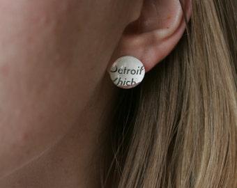 Detroit Earrings
