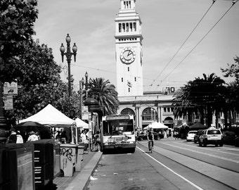 8x10 Ferry Building, San Francisco CA
