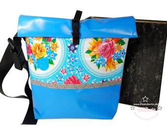 "Messenger-bag ""Rosario Blue"""