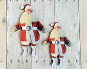 Santa Claus Brooch Christmas Pin Vintage Holiday Gift Stocking Stuffer Hostess Gift