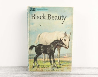 "Vintage Classic Books, ""The Call of the Wild"" by Jack London & ""Black Beauty"" by Anna Sewell"