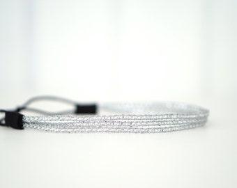 Silver Triple Strand Headband