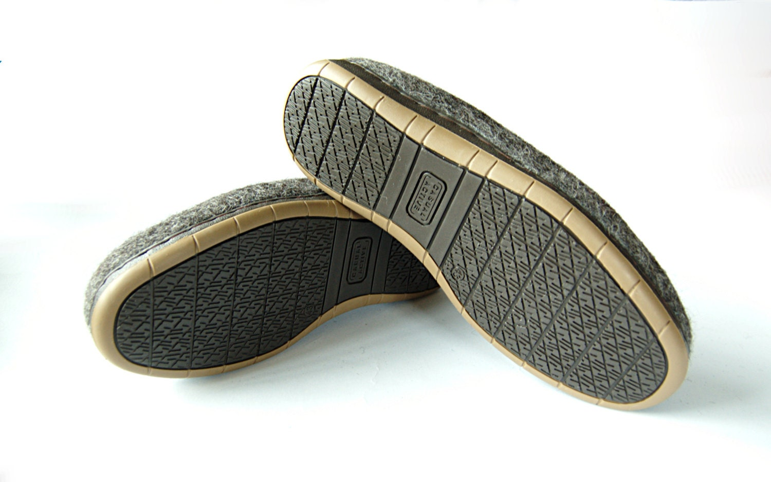 thin soles for or shoes from sturdy rubber