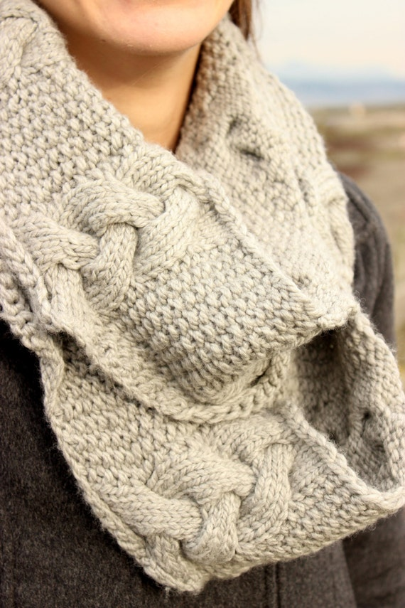 Wavy Moss Cowl Knitting Pattern pdf