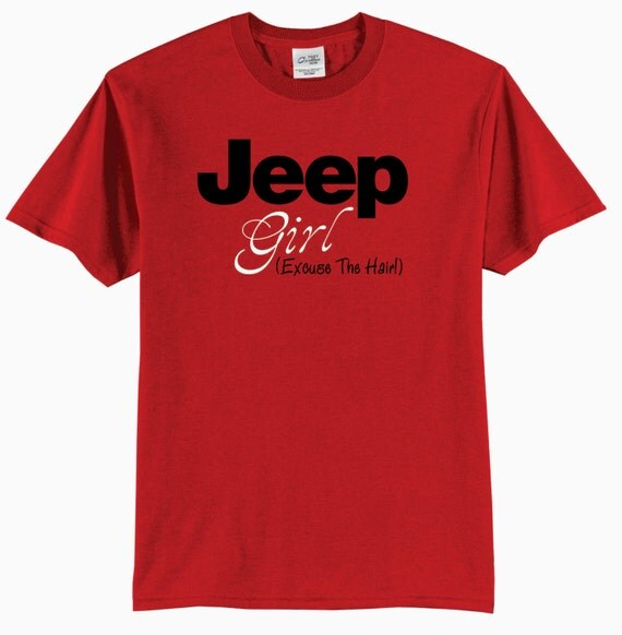 Jeep Girl Excuse The Hair Youth T-Shirt