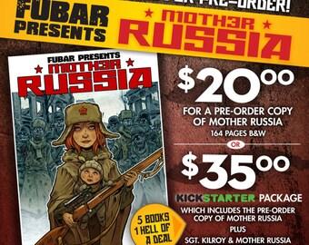 MOTHER RUSSIA kickstarter pack!