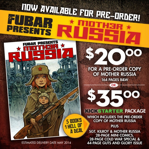 MOTHER RUSSIA kickstarter pack!