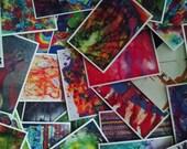 Postcard Art + Set of 25 Postcards
