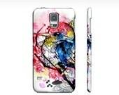 Watercolor Samsung Galaxy s5 case - Case for the s5 - Galaxy phone case - Bird art - Watercolor animal - Watercolor bird