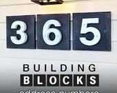 GARDENmarx 5 inch BUILDING BLOCKS address number