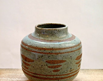 Studio Pottery Mid Century Vase