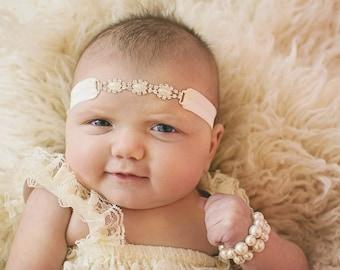 Ivory Pearl Headband