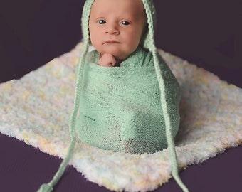 """Pastel Baby Blanket Pink Baby Blanket Yellow Baby Blanket Aqua Blue Baby Blanket White Terry Cloth-like Baby Girl Baby Blanket 17"""" x 17"""""""
