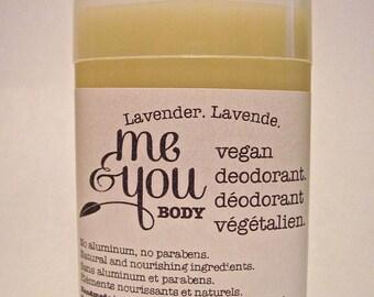 Vegan Deodorant-Lavender Scent-Handmade-Natural & Nourishing