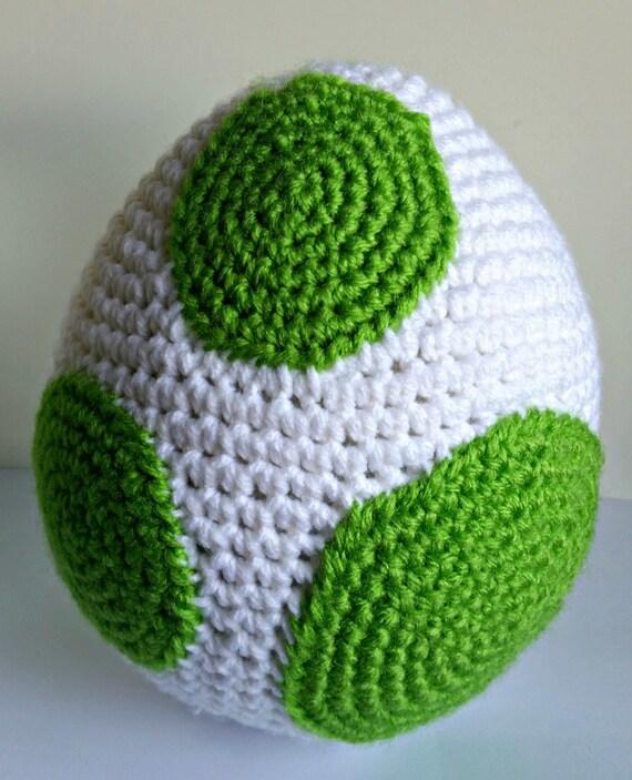 Amigurumi Crochet Egg Pattern : Yoshi Egg Amigurumi Crochet Pattern PDF/ Yoshis New