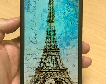 iPhone Case Eiffel Tower Turquoise iPhone 6/6+ iPhone 5/5s iPhone 4/4s