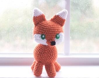 Fox Stuffed Animal - Fox Plush - Choose Your Colors - Custom Made Fox