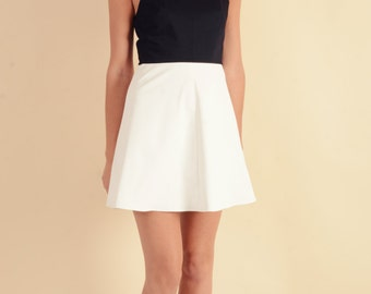 Black and White Classic Party Dress