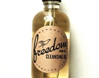 Cleansing Oil. Facial Cleanser. Oil Cleanser. 100% Natural.