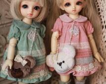 Crossbody Bear Bag for Blythe / Yosd