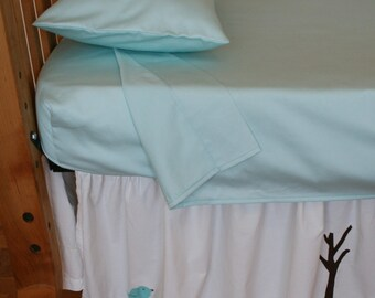 Organic Crib Sheet Set, Toddler Sheet Set, Crib Sheets, Organic Crib Sheets,  Toddler Bedding, Organic Toddler Bedding, Choose your fabric