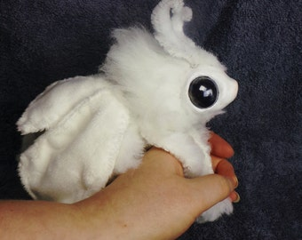 Custom Plush Poodle Moth Art Doll