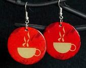 Coffee Lover Earrings